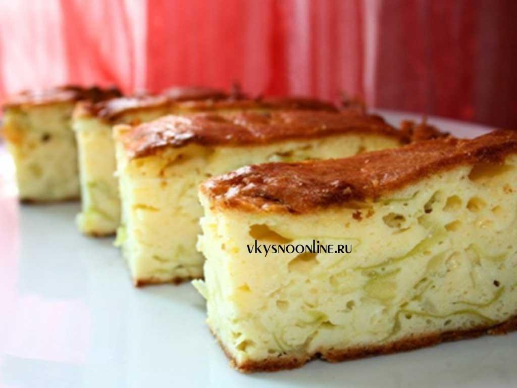 Заливной пирог из капусты рецепт с фото